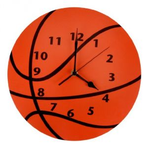 Trend Lab Wall Clock, Basketball