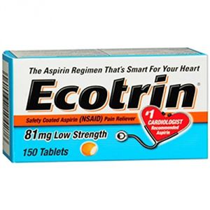 Ecotrin Low Dose 81 Mg Tablets