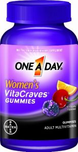 "One A Day Women""s Vitacraves Gummies, 100 Count"