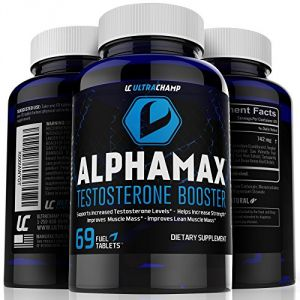 #1 Testosterone Booster Supplement For Men - Sculpt Lean Muscle & Supercharge Sex Drive -