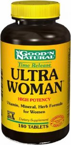 "Ultra Woman - Time Release, 180 Tabs,(good""n Natural)"