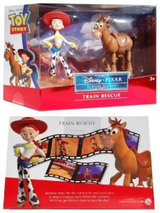 Toy Story Train Rescue Jessie And Bullseye V4949