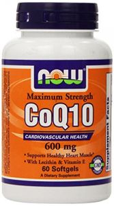 Now Foods Coq10 600mg, 60 Softgels