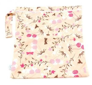 Bumkins Zippered Wet Bag, Flutter Floral
