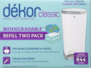 Diaper Dekor Refills - Biodegradable 2 Pack - Regularclassic