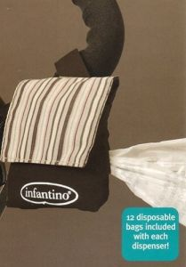 Infantino On The Go Diaper Bag Dispenser 12 Bags