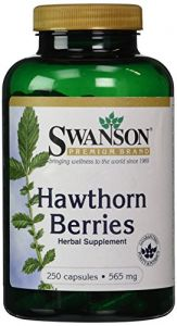 Swanson Premium Hawthorn Berries 250 Caps, 565 Mg Each
