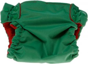 Sprout Change Reversible And Reusable Diaper Shell, Chilipepper