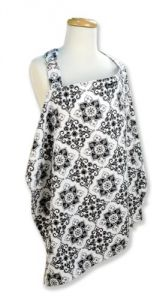 Trend Lab Nursing Cover, Versailles Print Black