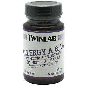Twinlab Allergy A And D -- 100 Capsules