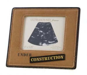 Under Construction Ultrasound Frame - 4 Inches X 3.25