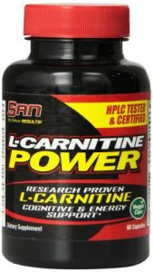 San L-carnitine Power, 60 Count