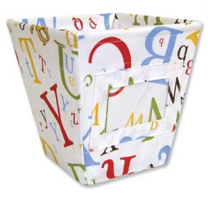 Trend Lab Dr. Seuss Storage Bin, Abc, Small