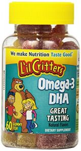 "L""il Critters Omega-3 Vitamin Gummies , 60 Count (pack Of 2)"