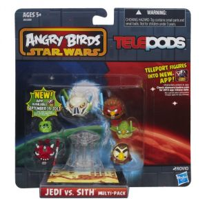 Angry Birds Star Wars Telepods Jedi Vs Sith Or Rebels Vs. Villains Characters May Vary