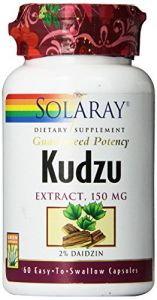 Solaray Kudzu Root Extract Supplement, 150mg, 60 Count