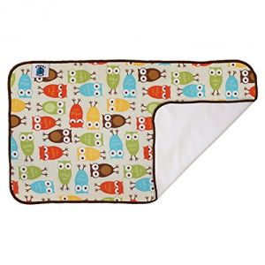 Planet Wise Designer Waterproof Diaper Pad, Owl