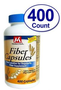 400 Capsules Fiber Therapy For Regularity/fiber Supplement - Compare To The Active Ingredient In Metamucil Capsules