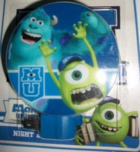 Monster University Night Light Mike & Sulley