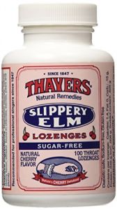 Thayer Henry Company Sugar Free Slippery Elm Cherry Lozenges - 100 Per Pack -- 1 Each.