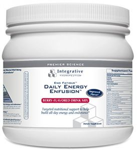 Integrative Therapeutics End Fatigue, Berry, 21.5 Oz Tub