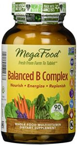 Megafood Balanced B Complex Tablets, 90 Count