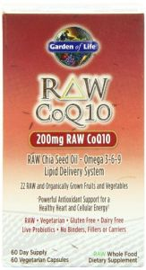 Garden Of Life Raw Coq10, 60 Capsules