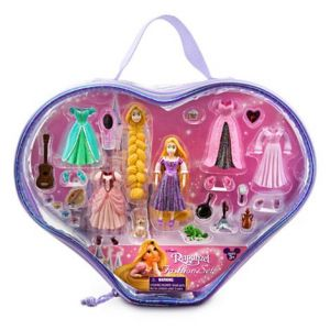 Disneys Princess Rapunzel Figurine Fashion Play Set