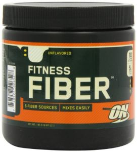 Optimum Nutrition Fitness Fiber, Unflavored, 6.87oz Tub (pack Of 2)