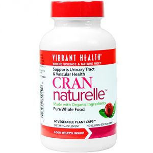 Vibrant Health - Cran-naturelle - Supports Urinary Tract & Vascular Health, 60 Count