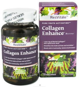 Resvitale - Collagen Enhance 1000 Mg. - 120 Vegetarian Capsules