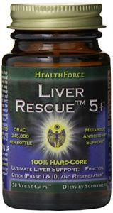 Healthforce Liver Rescue 5+, Vegancaps, 30-count