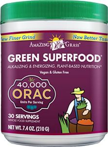 Amazing Grass Orac Green Superfood-30 Servings, 7.4-ounce