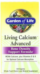 Garden Of Life Living Calcium Advanced , 120 Caplets