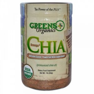 Organic Omega 3 Chia Seed Greens+ (orange Peel Enterprises) 1 Lbs Seeds