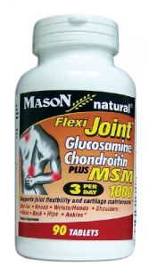Mason Vitamins Flexi-joint Glucosamine/chondroitin Msm 1000, Tablets, 90-count Bottle
