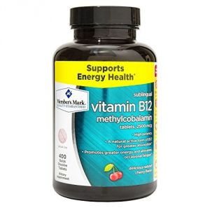 "Member""s Mark Formerly Known As Simply Right Vitamin B-12 2500 Mcg, High Potency, Sublingual B12, 400 Quick Dissolve Tablets"