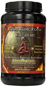 Warrior Food Protein Powder, Vanilla Plus, 1000 Grams - Healthforce Nutritionals