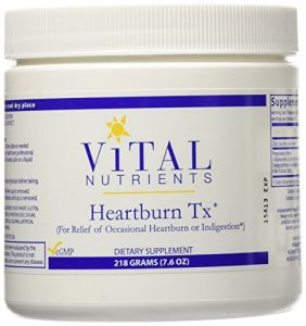 Vital Nutrients - Heartburn Tx 218g