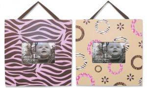 Trend Lab Set Of 2 Frame Set , Sweet Safari