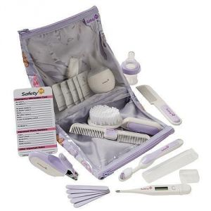 Safety 1st Baby Kit In Lavender Deluxe Healthcare & Grooming Kit
