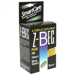Z-bec Smart Care B-complex Supplement, Caplets, 60 Ct. (pack Of 1)