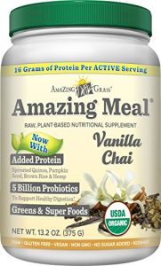 Amazing Grass Amazing Meal Vanilla Chai, 15 Servings, 13.2 Ounces