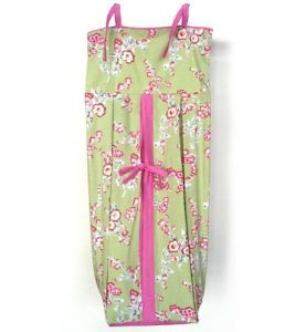 Tadpoles Cherry Blossom Diaper Stacker