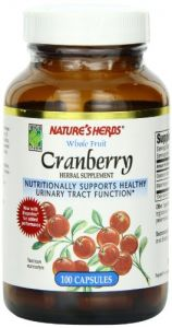Twin Lab Nat Cranberry Fruit, 100 Capsules