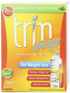 Healthy To Go, Trim Energy,teaberry Flavor, 24 Packets, 4.35 -oz Box