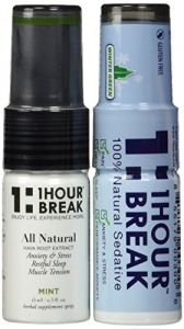 Kava Kava Tincture Spray By 1hour Break (2 Pack) - All Natural Relaxation And Stress Reduction & Instant Anxiety Relief - Original Formula