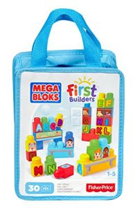 Mega Bloks First Builders Abc Spell, 30-piece Bag