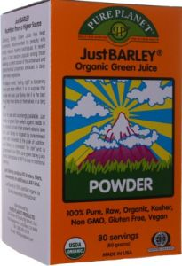 Just Barley Pure Planet Products 80 G Powder