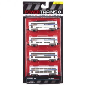 Power City Trains Bullet Classic 4 Pack